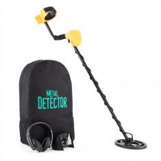 DURAMAXX DR. JONES, detector de metale, rucsac pentru transport, afișaj, capac de protecție pentru display, căști - Detector metale