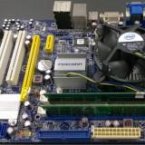 KIT FOXCONN G41MX-K + CPU INTEL DUAL CORE E5400 + 2 GB RAM DDR2 + COOLER INTEL