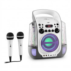 Auna Kara design CD sistem karaoke USB MP3 LED 2 x micro baterie - Echipament karaoke