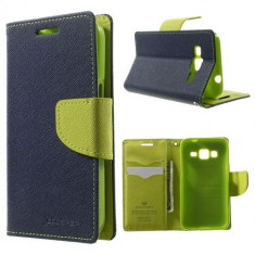 Husa My-Fancy Samsung Galaxy Core Prime - Albastru/Lime - Husa Telefon