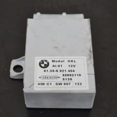 Punte auto fata - Modul capota spate BMW Seria 7 E65 E66, x5 61356921404 din dezmembrari
