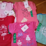 Tricouri fete 2-3 ani, diverse modele/culori- NOI!, Marime: One size, Culoare: Din imagine