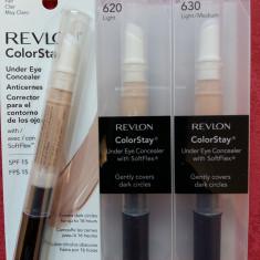 Revlon Colorstay Under Eyes Concealer 3 nuante disponibile - Fond de ten
