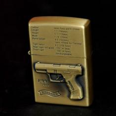 "Bricheta tip - Zippo - pistol "" Walther - P 99 "" - Bricheta Zippo"