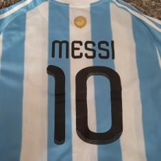 Tricou original ADIDAS nr 10 MESSI naționala Argentina mneca scurta nou - Set echipament fotbal Adidas, Marime: L/XL