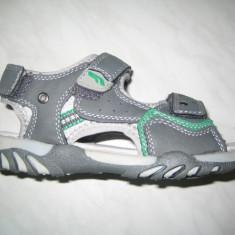 Sandale sport baieti WINK;cod KSE4355-4;marime:28-35 - Sandale copii Wink, Marime: 29, 30, 31, 32, 33, Culoare: Gri, Piele sintetica