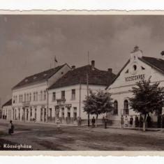 ALESD PRIMARIA ELESD KOZSEGHAZA - Carte Postala Transilvania dupa 1918, Circulata, Fotografie