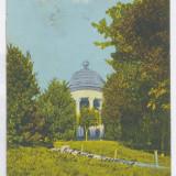 1032 - CRAIOVA, Bibescu Park - old postcard - used - 1923 - Carte Postala Oltenia dupa 1918, Circulata, Printata
