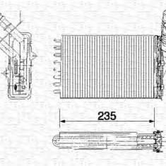 Schimbator caldura, incalzire habitaclu RENAULT CLIO Mk II 1.4 - MAGNETI MARELLI 350218159000 - Sistem Incalzire Auto