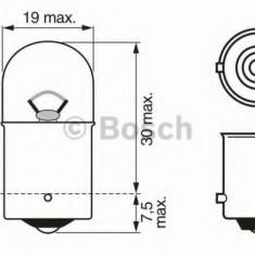 Bec, lampa frana / lampa spate ALFA ROMEO 33 1.4 i.e. - BOSCH 1 987 302 283 Sachs