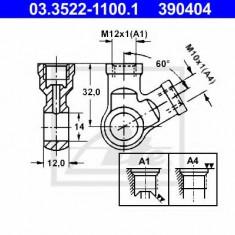 Conector, conducte metal - ATE 03.3522-1100.1
