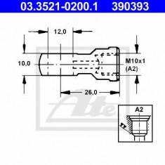 Conector, conducte metal - ATE 03.3521-0200.1