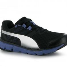 Adidas Puma Running - Nr.42 = 27 cm - Adidasi barbati Puma, Culoare: Negru, Textil