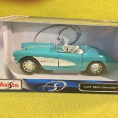 Maisto Special Edition 1:24 1957 Chevrolet Corvette - Macheta auto
