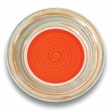 Farfurie mica din ceramica Nava diametru 205 cm portocaliu