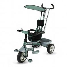 Tricicleta DhsBaby Scooter Plus verde - Tricicleta copii