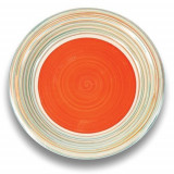 Farfurie mare din ceramica Nava diametru 27 cm portocaliu