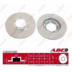 Disc frana MITSUBISHI L 400 SPACE GEAR bus PD W PC W PA V PB V PRODUCATOR ABE C30507ABE - Discuri frana
