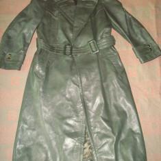 Haina barbati, piele bovina/motor/moto, model army, vintage anii '50 Germany - Geaca barbati, Marime: M, Culoare: Din imagine