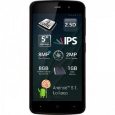 Allview P6 Dual simm black nou nout sigilat la cutie, 2ani garantie !PRET:370lei - Telefon Allview, Negru, Neblocat