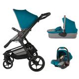 Sistem modular Coccolle Girasole 3in1 albastru - Carucior copii 3 in 1