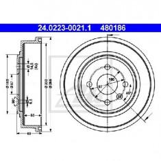 Tambur frana OPEL ASTRA H combi L35 PRODUCATOR ATE 24.0223-0021.1