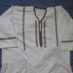IE, camasa costuum popular, autentica, Bucovina - Costum popular