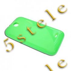 Husa Silicon S-Line Samsung Galaxy ACE 4 LTE G357 Verde - Husa Telefon