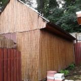Cabana din barne 20/20cm, cu prispa, 6m/3m, demontabila
