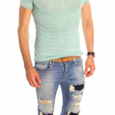 Tricou tip ZARA - tricou barbati - tricou slim fit - tricou fashion - 6516, Marime: L, XL, Culoare: Din imagine