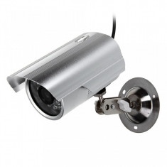 Camera de Supraveghere Video cu Infrarosu si Inregistrare pe Card Ext/Int - Camera CCTV, Cu fir, Color, Bullet