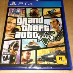 Joc Grand Theft Auto V, GTA V, PS4, original si sigilat, alte sute de jocuri! - Jocuri PS4, Actiune, 18+, Single player