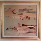 Tablou. pictura in ulei pe panza - Pictor roman, Abstract, Altul
