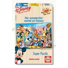 Puzzle Educa Minunata Lume Disney 100 Piese