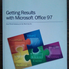 Getting Results with Microsoft Office 97 - Carte Microsoft Office