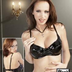Sutien Latex Black - Lenjerie sexy femei