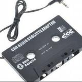 CASETA ADAPTOARE AUTO CU MUFA JACK PENTRU CASETOFON, MP3, TELEFON, DVD - CD Player MP3 auto