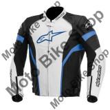 MBS Geaca piele Alpinestars GP Plus R, negru-alb-blau, 50, Cod Produs: 310051412750AU