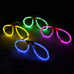 Ochelari luminescenti forma aviator