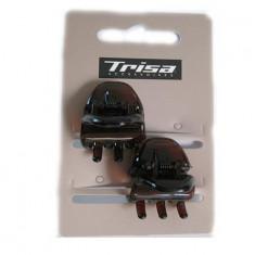 Trisa - Set 2 clesti de par maro