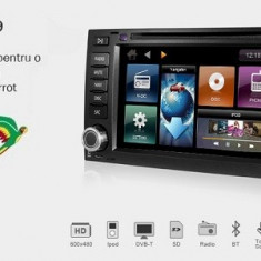 Dynavin DVN-VWTG-AND Navigatie Dvd Auto Gps Bluetooth Touareg Transporter T5 - DDV66857 - Navigatie auto Kenwood