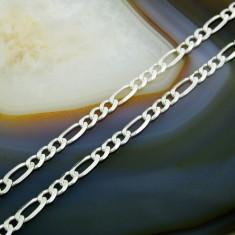 Lantisor argint - Lant din Argint 925, model simplu cu zale 3+1, cod 352