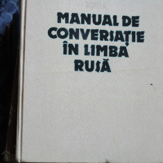 MANUAL DE CONVERSATIE IN LIMBA RUSA