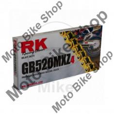 MBS Lant transmisie RK GB520MXZ4/114, deschis/cheita siguranta, Cod Produs: 7250368MA - Variomatic Moto