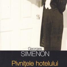 Georges Simenon - Pivnitele hotelului Majestic - 602136 - Carte de aventura