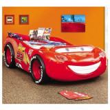 Pat copii masina Fulger McQueen Cars - Pat tematic pentru copii Altele, Altele, Alte dimensiuni, Rosu