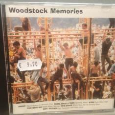 WOODSTOCK MEMORIES - VARIOUS ARTISTS (1996/CBS/UK) - CD /ORIGINAL/NOU/SIGILAT - Muzica Rock Columbia