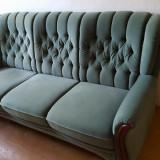 Canapea fixa cu 2 fotolii