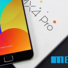 Meizu MX4 PRO - 16Gb ROM/3Gb RAM/21 MPX/NFC/DISPLAY 2K - ABSOLUT NOU, Gri, Neblocat, Single SIM, Octa core