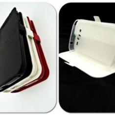 Husa Telefon - Toc FlipCover Stand Magnet Sony Xperia X ALB